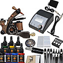 1 Cast Iron Tattoo Machine Guns Kit for Lining and Shading