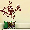 Twee Uilen Tak Wall Stickers