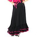 Flamenco Dress Viscose Modern Dance Skirt For Ladies More Colors
