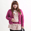 Women's Plus Size Splicing Floral T-shirt