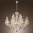 Lmpara Chandelier Vela de Vidrio - CATONSVILLE