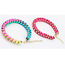 Women's Trendy Colorful Woven Bracelet