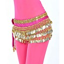 Performance Dance Belt For Ladies Polyester With 248 Coins