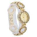 Unique Pretty Women's Alloy Quartz Movement Glass Oval Shape Dress Watch(More Color)