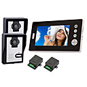 "2.4GHz Wireless 7"" LCD Monitor Home Security Video Door Phone and Intercom System"