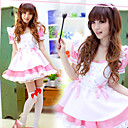 Cute Girl Polyester Ruffle and Ribbon Maid Suit