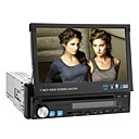 7 polegadas 1DIN Car DVD Player com GPS Bluetooth TV iPod
