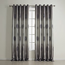 (Two Panels) Traditional Geometric Print Blackout Curtains