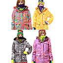 20000mm Waterproof FELICE-DINO-STONE Women's Skiing Jacket (Multi-color Available)