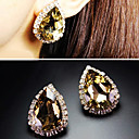 Women's Diamond Gem Earrings