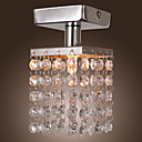 mini semi flush mount i krystal (krom finish)