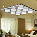 3W Contemporary Glass Ceiling Light LED avec 9 lumires