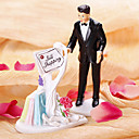 """Bride Still Shopping"" Wedding Cake Topper"