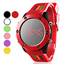 Men's Silcone Digital LED Wrist Watch (Assorted Colors)
