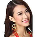 Performance Dancewear Alloy Belly Dance Chandelier Earrings For Ladies More Colors