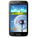 Y7100 MT6577 1GHz Android 4.1.1 dual core capacitivo 5.5inch telefono cellulare touchscreen (TV WIFI, FM, 3G, GPS)