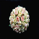 Satin bella / Round Cotone Wedding Bouquet Forma