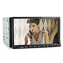7 Inch 2Din Car DVD Player within PIP, TV, RDS, 3D Interface, Steering Wheel Control
