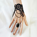 Women's Lace Layered Flower Bracelet/Ring