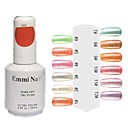 UV Color Gel Bunte Nail Art Nail Polish (15ml, 1 Flasche)