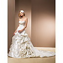 Ball Gown Sweetheart Chapel Train Wedding Dress
