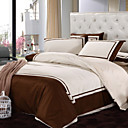 Traditional Design Full 4-Piece Duvet Cover Set
