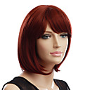 Capless Short Auburn High Quality Synthetic Hair Wigs