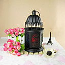 Vintage Iron Lantern Candle
