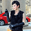 Delicate Collarless Fox Fur Casual/Party Vest