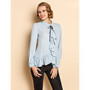 TS Vintage Flouncing Laced Up Blouse Shirt