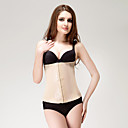 Chinlon with Embroidery Front Busk Closure Shapewear
