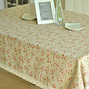 Red Flower Table Cloth