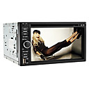 6.2 polegadas 2Din carro DVD Player com TV, GPS, iPod, RDS