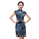 Women's High End Mulberry Silk Chinese Dress