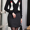 Dames Tweed Mini Rok