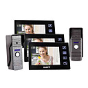 "7""Color Video Door Phone,with SD card Picture Record,Taking Photo (2 Camera To 3 Monitor)"