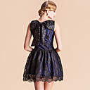 TS VINTAGE Bow Back Lace Sleeveless Princess Dress