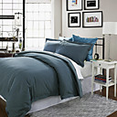 3PCS Santos Mini Check Jacquard Full Duvet Cover Set