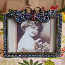 "3"" Butterfly Design Metal Picture Frame"