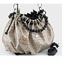 Women's Champagne Cute Snakeskin Pattern Crossbody
