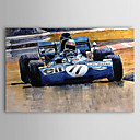 Hand Painted Oil Painting Transportation Racing Car 1303-SL0055