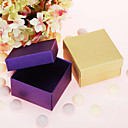 Simple Cuboid Favor Box - Set of 12 (More Colors)