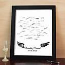 Personalized Signature Frame - Wings (Includes Frame)