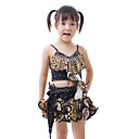 Dancewear Viscose with Crystals Latin Dance Dress For Children