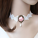 Pretty Rose Lace Necklace