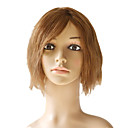 Capless 100% Indian Remy Short Silky Straight Hair Wigs Multiple Colors Available