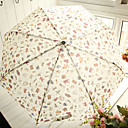 Funny Cartoon Patterns Folding Waterproof Sweet Lolita Umbrella
