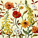Printed Art Botanical Floral Lisa's 2 Garden by Lisa Audit