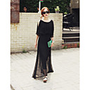 Women's Chiffon Maxi Dress