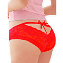 Women's Red Bow Briefs Underwear